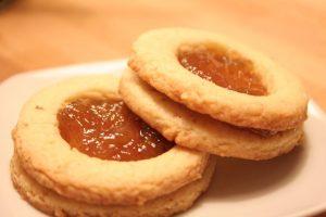 Biscotti marmellata di arancia - Pasta Frolla