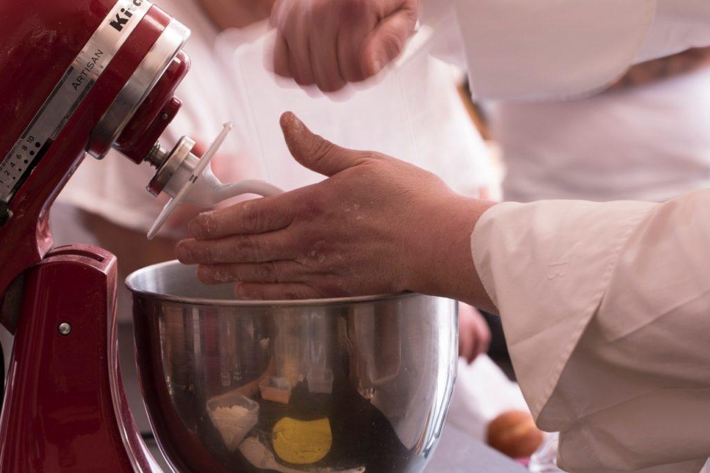 Chef con la planetaria