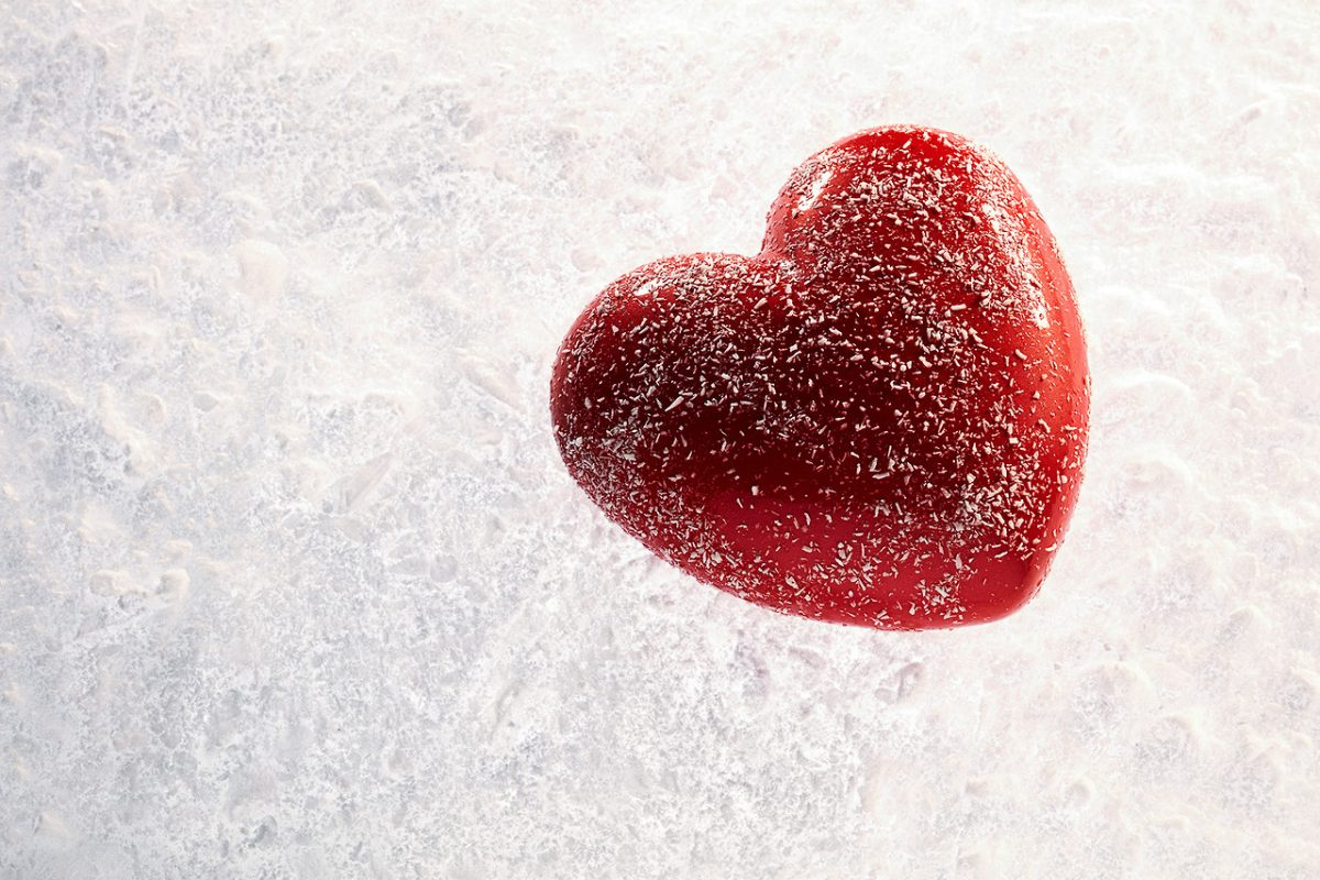 Dolce a forma di cuore