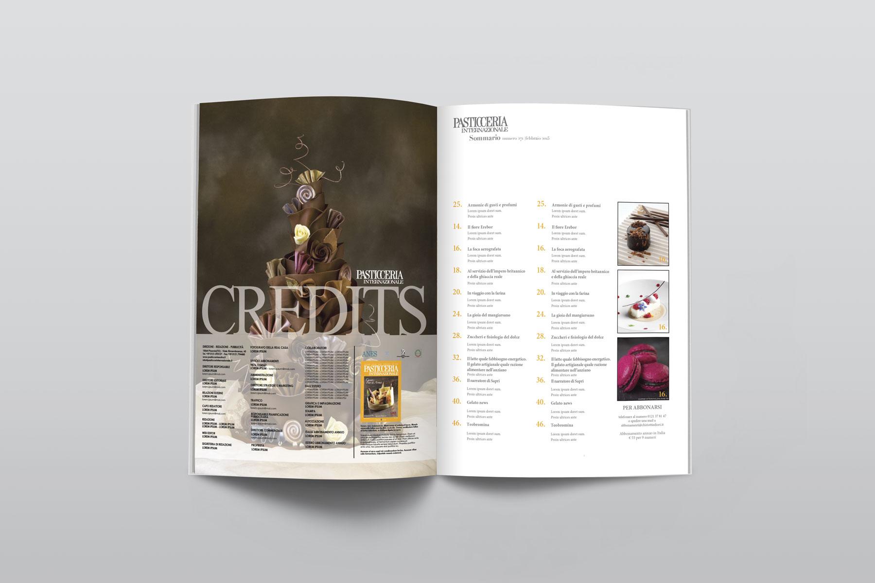 Magazine Pasticceria Internazionale