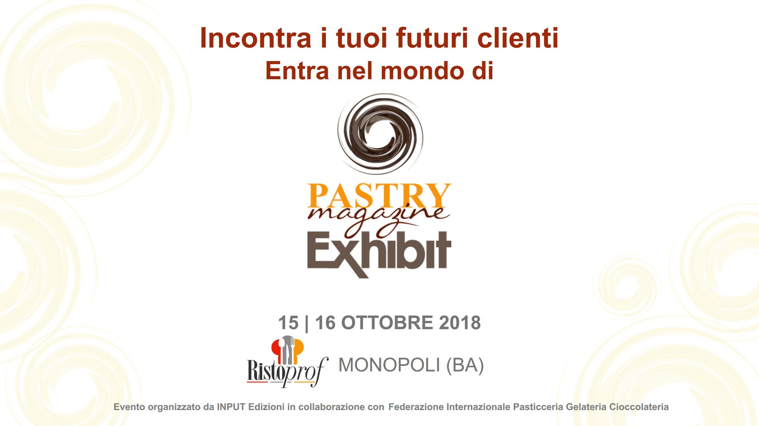 Pastry Magazine Exhibit Monopoli