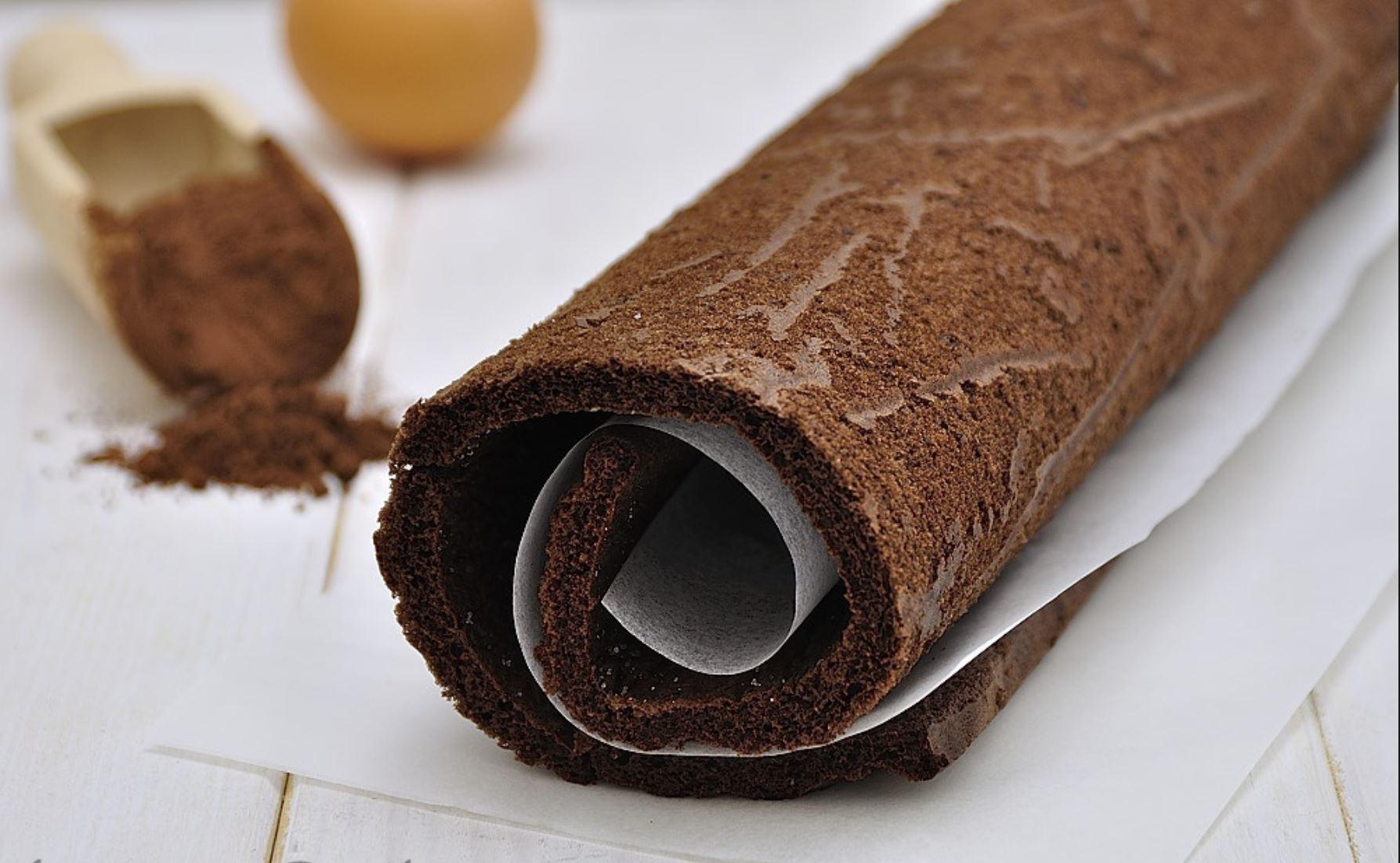 Biscotto Arrotolato al Cacao
